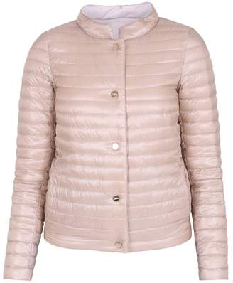 Herno (ヘルノ) - Nude Quilted Jacket