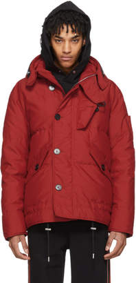Givenchy Red Puffer Down Jacket