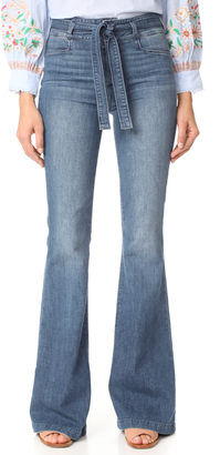 PAIGE Chandler Flare Jeans $249 thestylecure.com