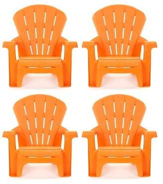 Little Tikes Garden Chair - Orange (4pk)
