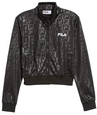 Fila Isidora Embossed Logo Track Jacket