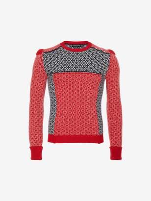 Alexander McQueen Patchwork Sweater