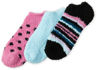 Ellen Tracy 3-Pack Cozy Ankle Socks
