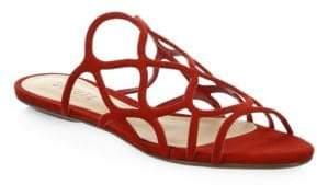 Schutz Nuray Suede Sandals