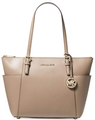 d97716f62b8802 MICHAEL Michael Kors Jet Set Textured Leather Tote