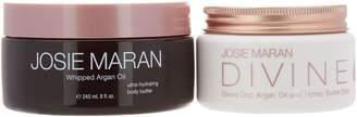 Josie Maran Whipped Argan Body Butter & Divine Drip Set