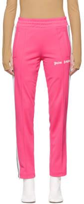 Palm Angels Pink Classic Track Pants