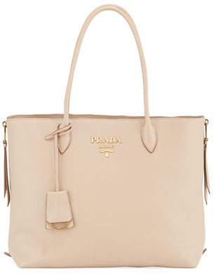 Prada Daino Calf Leather Tote Bag