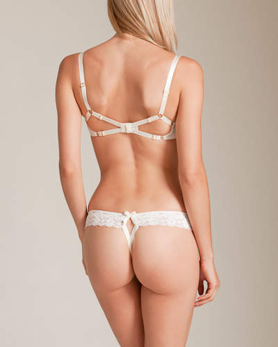 Bordelle Bridal Collection Alba Peep Bra