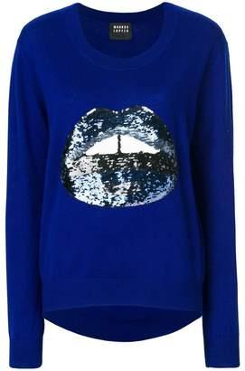Markus Lupfer Lara Lip sequin sweater