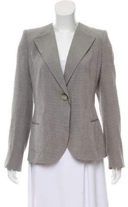 Giorgio Armani Structured Silk Jacket w/ Tags