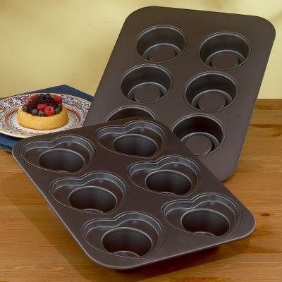 Heart Cupcake Pan or Shortcake Pan