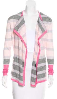 Clements Ribeiro Striped Open-Front Cardigan