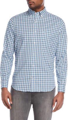 Nautica Button-Down Plaid Shirt