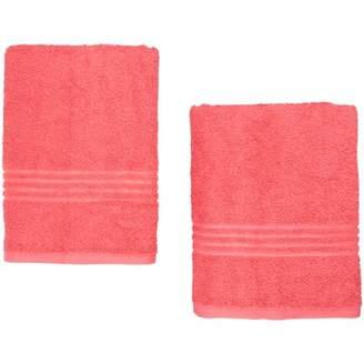 Mainstays Essential True Colors Texture Bath Towel Collection 2 Piece Set