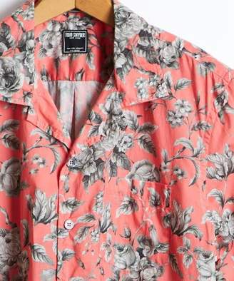 Todd Snyder Short Sleeve Liberty Print Floral Camp Collar Shirt