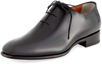 Santoni Carter Whole-Cut Patent Oxford