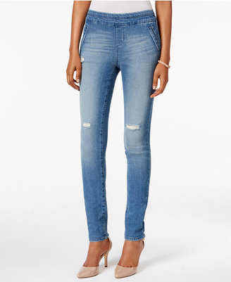 Style & Co Ripped Jeggings, Only at Macy's $54.50 thestylecure.com