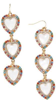 BaubleBar Aella Heart Earrings