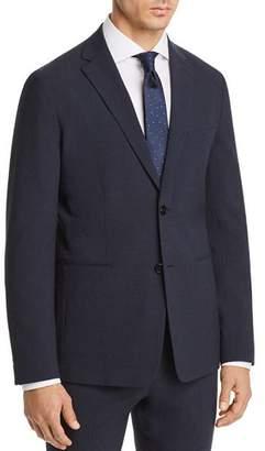 Theory Gansevoort Seersucker Check Cotton Slim Fit Suit Jacket