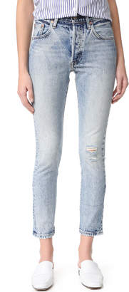 Levi's 501 Skinny Jeans $148 thestylecure.com