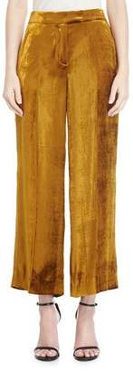 A.L.C. Robbie High-Waist Wide-Leg Pants