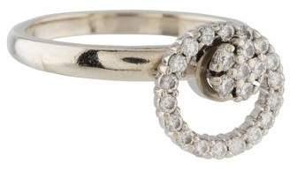 Ring 14K Diamond Spinning