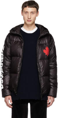 DSQUARED2 Black Puffer Jacket