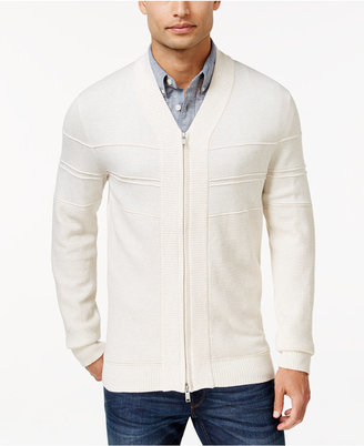 Alfani Full-Zip Shawl Collar Cardigan Sweater, Only at Macy's $70 thestylecure.com