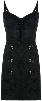 Dolce & Gabbana corset mini dress