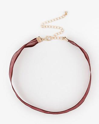 Le Château Organza Choker Necklace