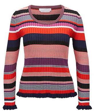 HUGO BOSS Striped sweater in a cotton blend