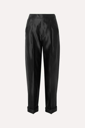 Tom Ford Silk-satin Pants - Black