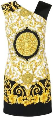 Versace Baroque sleeveless printed mini dress