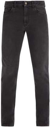 Gucci Mid-rise straight-leg denim jeans