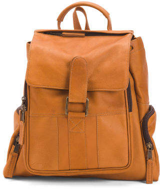 Leather Discovery Backpack