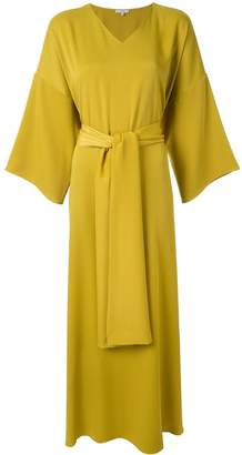 LAYEUR wide sleeve maxi dress