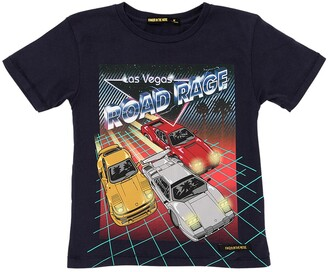 Finger In The Nose ROAD RAGE PRINT COTTON JERSEY T-SHIRT