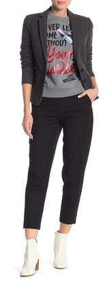 Love Moschino Stripe Print Knit Pants