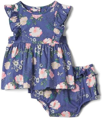 Floral flutter top and bloomer set $39.95 thestylecure.com