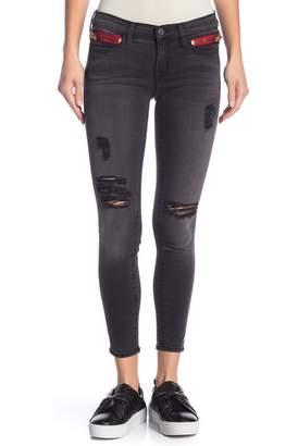 Etienne Marcel High Waist Zipper Jeans