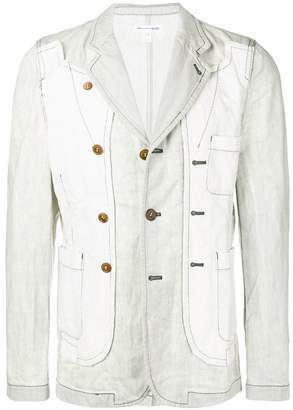 Comme des Garcons blazer-style denim jacket
