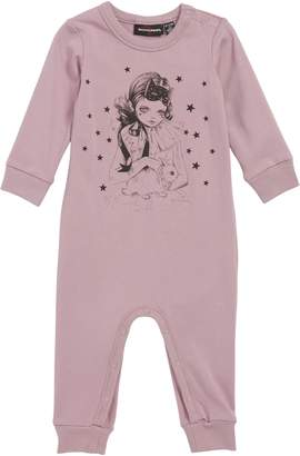 Rock Your Baby Star Gazer Graphic Romper