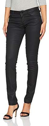 Tom Tailor Women's Carrie with Coating Slim Jeans,W32/L32 (Manufacturer Size: 32)