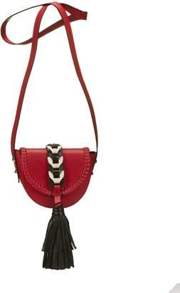 RED Valentino Fringed Tassel Shoulder Bag
