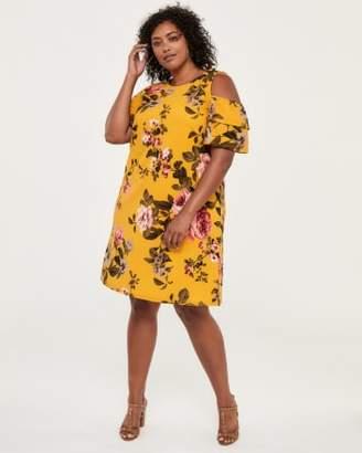 Brown Plus Size Dresses On Sale Shopstyle Canada