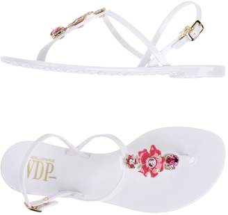 Vdp Collection Toe strap sandals - Item 11334010CE