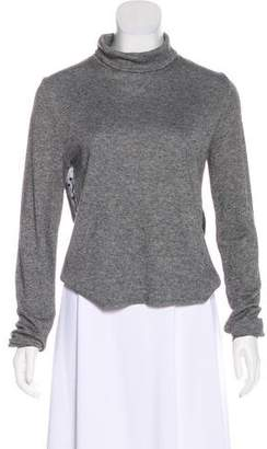 See by Chloe Paneled Turtleneck Sweater