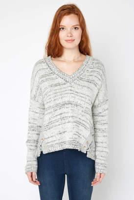 Elan International Lace Up Side Pullover