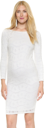 Ingrid & Isabel Boat Neck Lace Dress $98 thestylecure.com